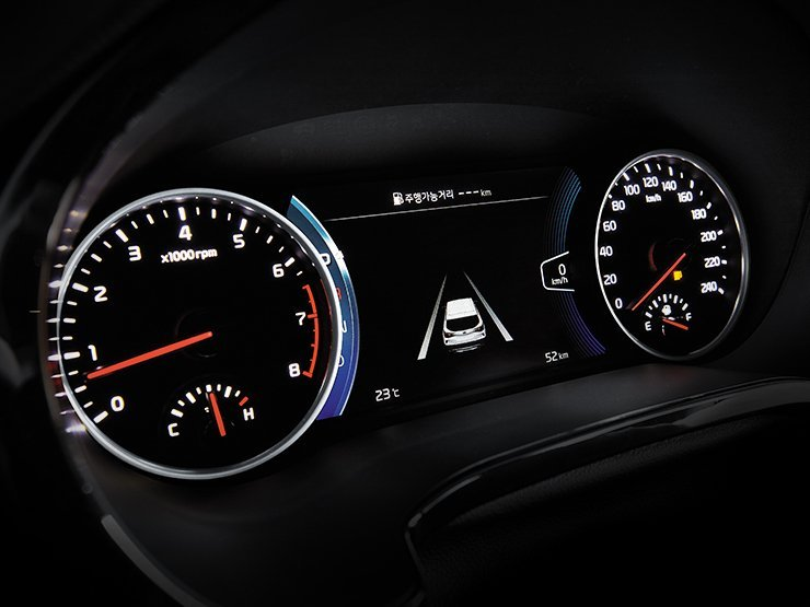 Showcase cover image for 2020 Kia Seltos Dash Cluster