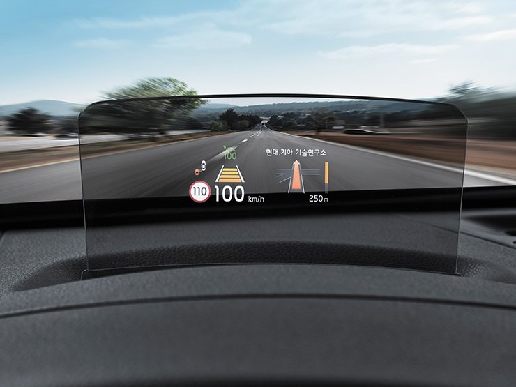 Showcase cover image for 2020 Kia Seltos Heads Up Display